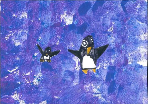 pingouins par Maël