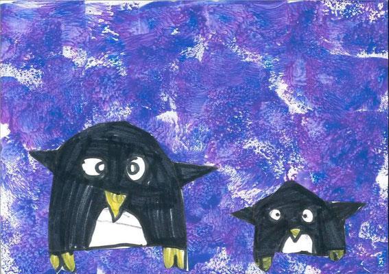 pingouins par Anna