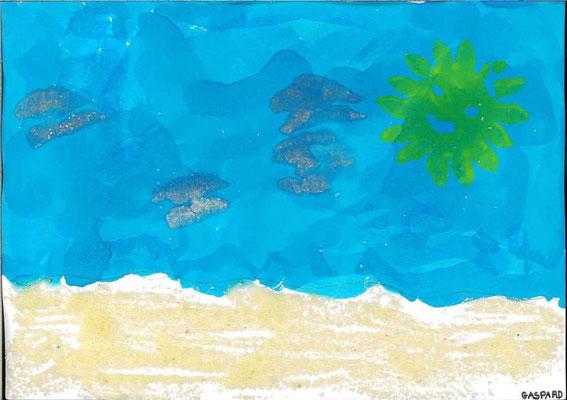 la mer par Gaspard