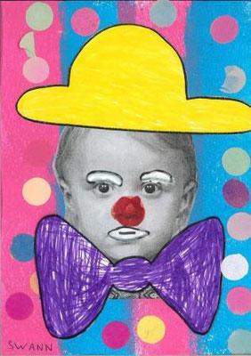 clown par Swann
