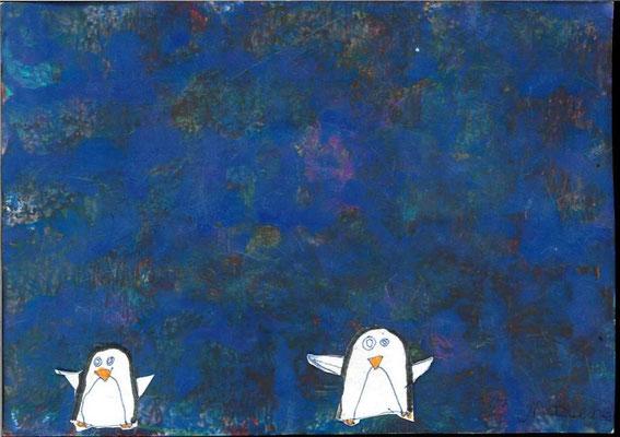 pingouins par Maxence