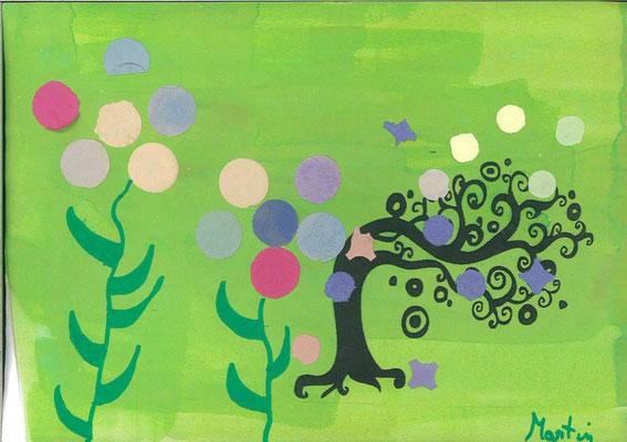 arbre de printemps par Martin