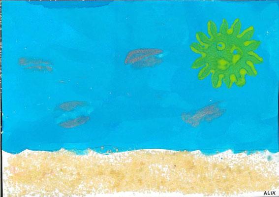 la mer par Alix
