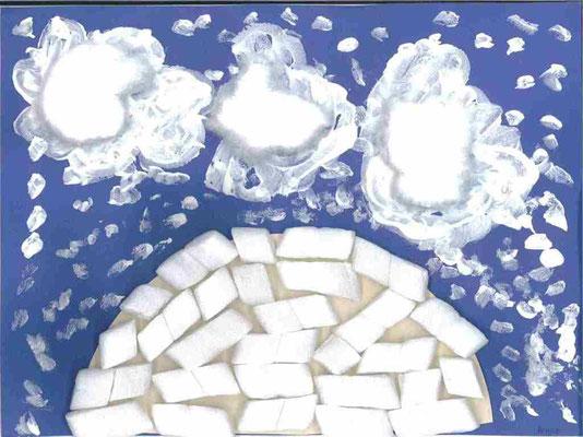 GS : paysage d'hiver par Achile