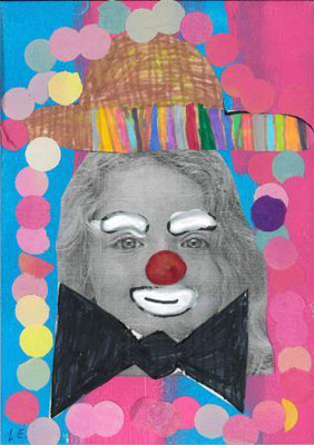 clown par Léana