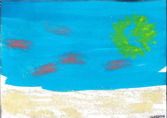 la mer par Corentin