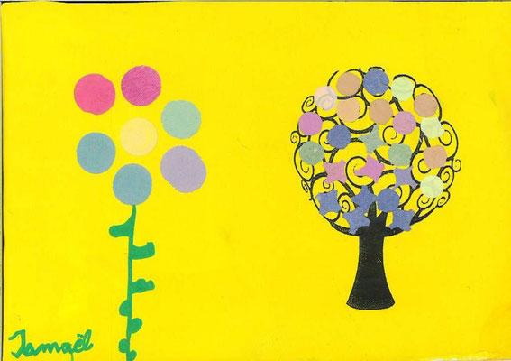 arbre de printemps par Ismaël
