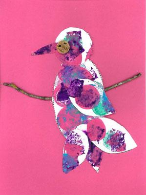 oiseau sur la branche par Emilio