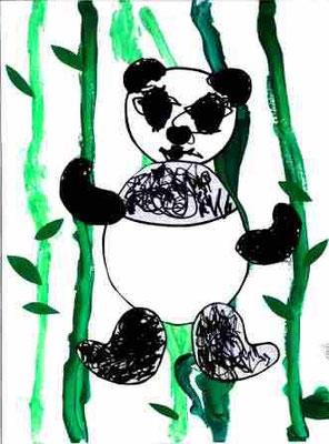 Panda par Manon