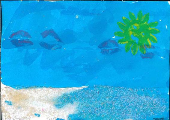 la mer par Timoté