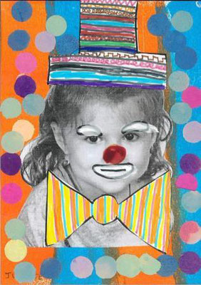 clown par Juliette