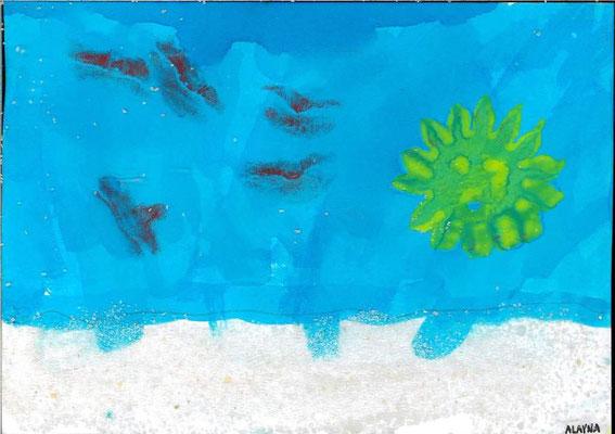 la mer par Alayna