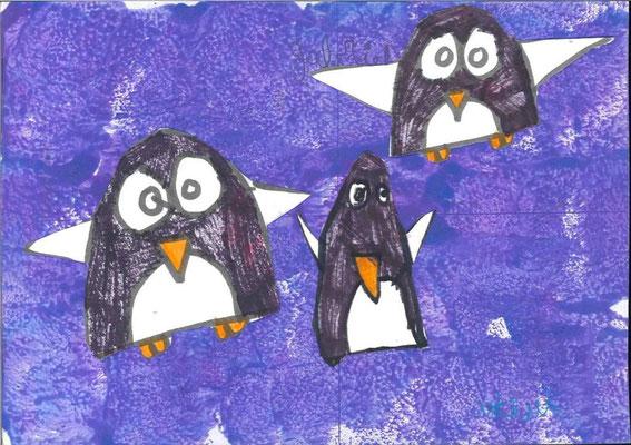 pingouins par Arthur