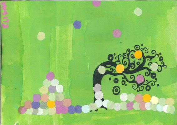 arbre de printemps par Elisha
