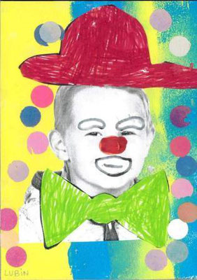 clown par Lubin