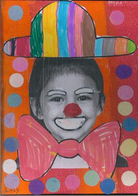 clown par Laly