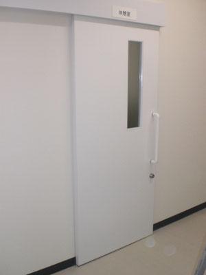 フラッシュ戸 片引きドア オーダー建具