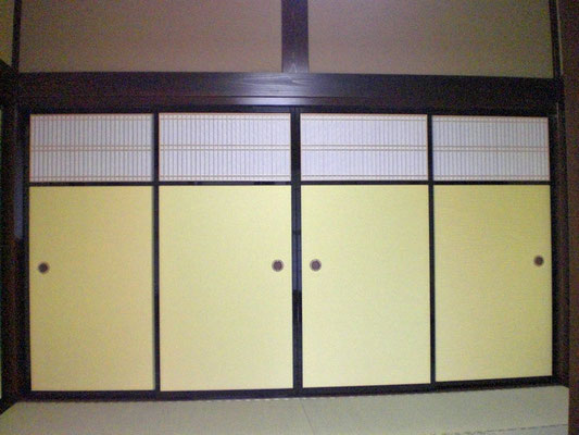 ふすま 高窓襖 オーダー建具