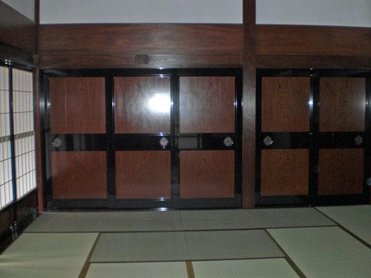 木製建具 オーダー建具 板戸