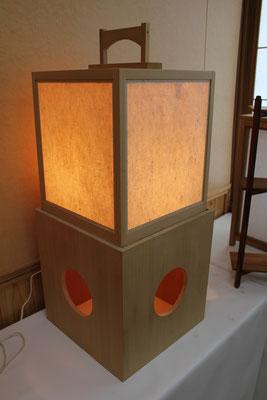 木工品 行灯