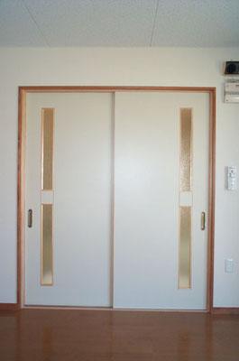 フラッシュ戸 引違い戸 オーダー建具