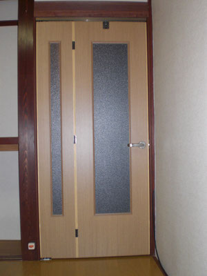 フラッシュ戸 親子ドア オーダー建具