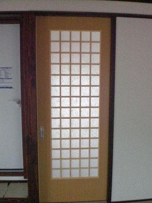 フラッシュ戸 ドア オーダー建具