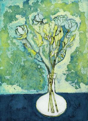 「Blue dry flower」