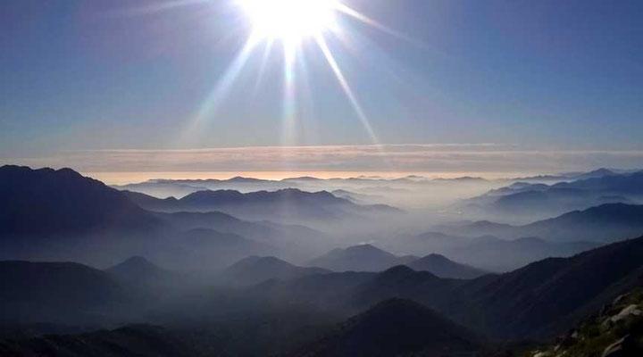 Gipfelaussicht Richtung Norden