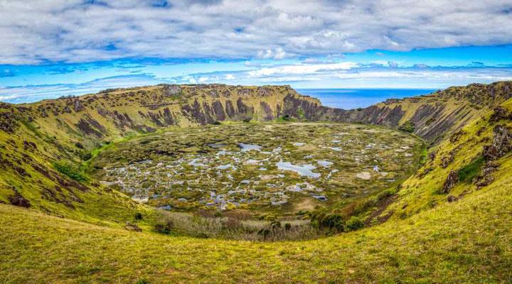 Krater des Rano Kau