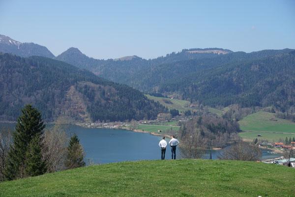 Trauung im Freien - Heiraten mit Ausblick am Schliersee