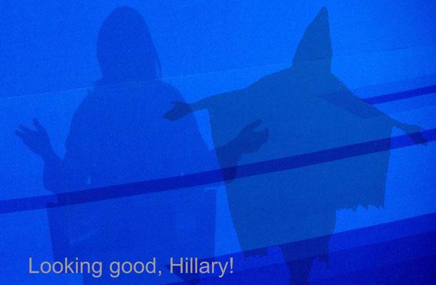 photo by edgar zollinger - edgart.ch / Hillary, Hillary....!