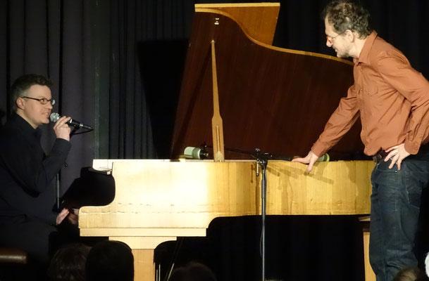 Claus-Dieter Bandorf und Chin Meyer