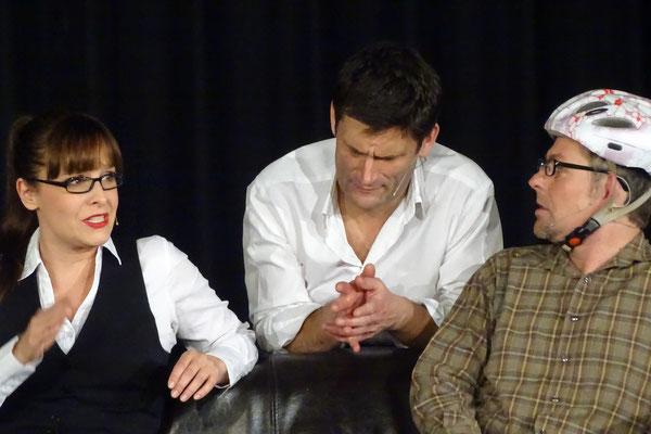 Maike Kühl, Christian Ehring und Heiko Seidel