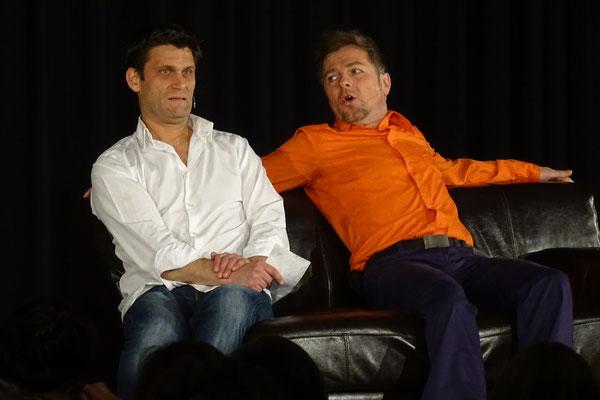 Christian Ehring und Heiko Seidel