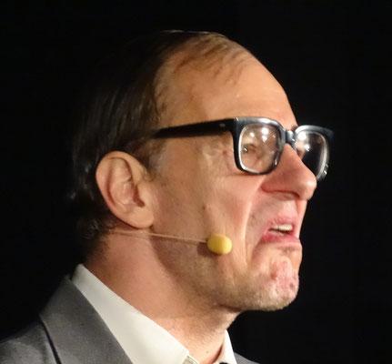 """Chin Meyer in seiner Rolle als """"Siegmund von Treiber"""""""