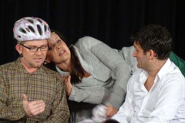 Heiko Seidel, Maike Kühl und Christian Ehring