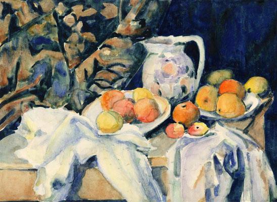 Paul Cézanne-s Stillleben | Bildstudie | 2000