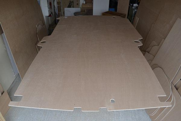 Découpe de plancher