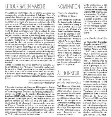La Gazette Officielle du Tourisme
