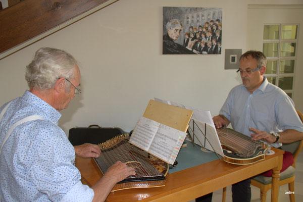 Peter und Sebastian Gramsamer