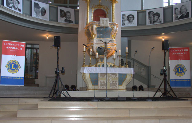 Kirche St. Gumbertus Ansbach