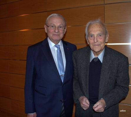 Friedrich Hilterhaus, Otto Kögler, noch immer dabei mit seinen 96 Jahren