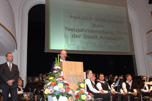Thomas Deffner, Bürgermeister - Martin Porzner, Bürgermeister.