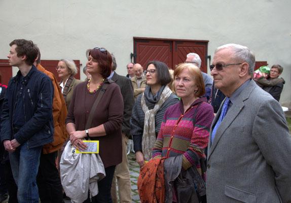 Friedrich Hilterhaus, Mäzen und Mitinitiator des Projektes