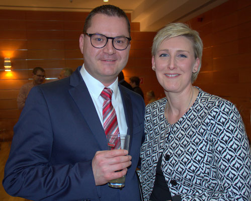 Frank Reisner mit Frau