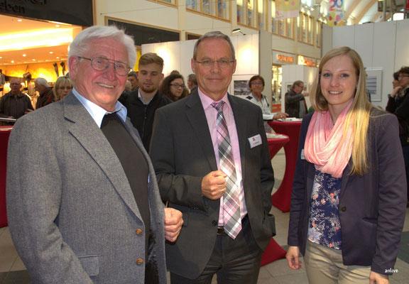 v.l. Walter Röber, Andreas Schmid, Miriam Guggenberger.