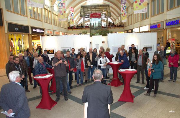 Jubiläumsausstellung vom Fotoclub Ansbach, im Brücken-Center Ansbach.