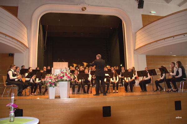 Jugendblasorchester der Städtischen Musikschule Ansbach, Leitung Ernst Berendes