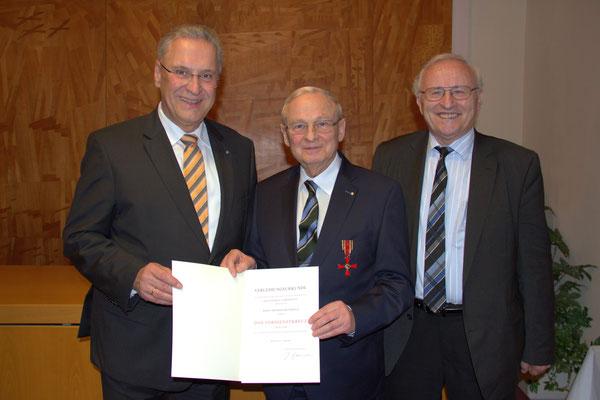Joachim Herrmann, Friedrich Hilterhaus, Jürgen Ströbel, MdL